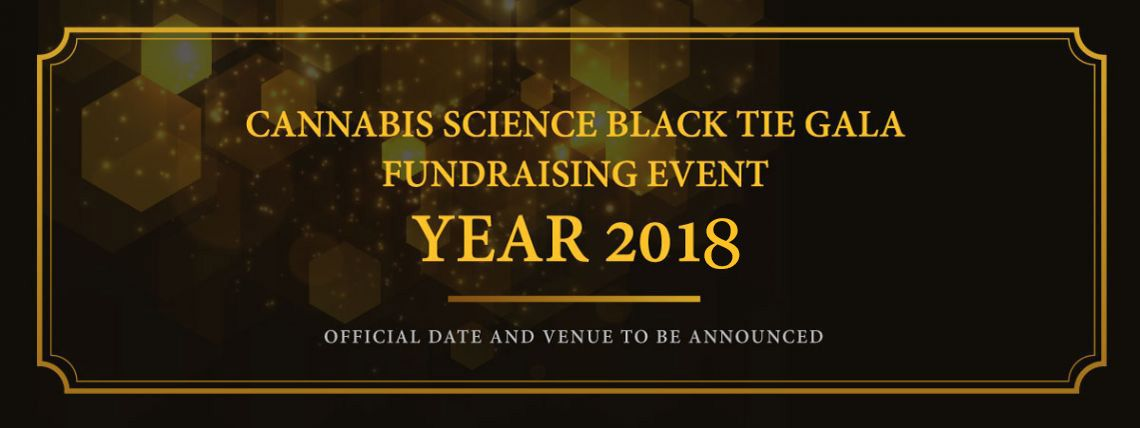 Cannabis Science Black Tie Gala Fundraising Event 2018
